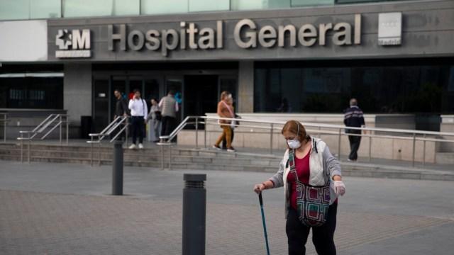 FOTO: España suma dos mil 316 muertos por coronavirus, el 24 de marzo de 2020