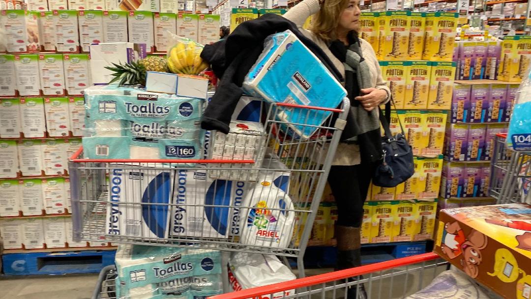 Foto: Restringen venta de papel higiénico en comercios, 15 de marzo de 2020 (OMAR MARTÍNEZ /CUARTOSCURO.COM)