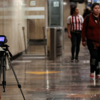 Coronavirus: Instalan cámaras temográficas en Metro CDMX