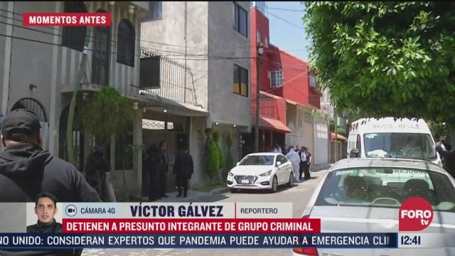 detienen a presunto integrante de banda criminal en xochimilco