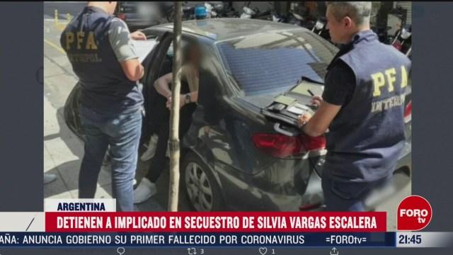Foto: Hija Nelson Vargas Implicado Secuestro Detenido Argentina 3 Marzo 2020