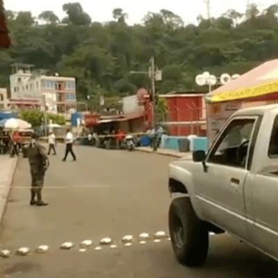 Ejército de Guatemala impide ingreso de extranjeros en frontera con Chiapas