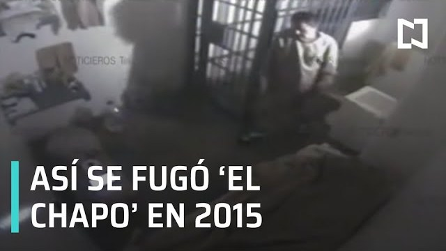 Foto: Fuga El Chapo Video Audio Prisión 19 Marzo 2020