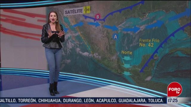Foto: Mayte Carranco Clima 6 Marzo 2020 FOROtv 6 Marzo 2020