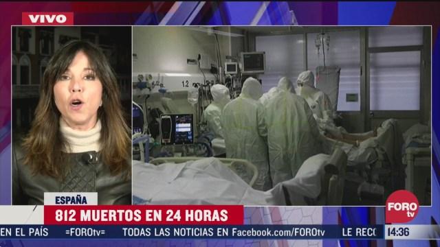 FOTO: en espana llega a 7 mil 300 el numero de muertos por coronavirus
