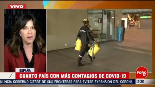 FOTO: 16 marzo 2020, espana cierra fronteras a extranjeros por coronavirus