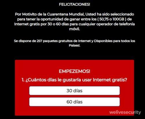 Foto Ofrecen internet gratis por WhatsApp; la nueva estafa 25 marzo 2020