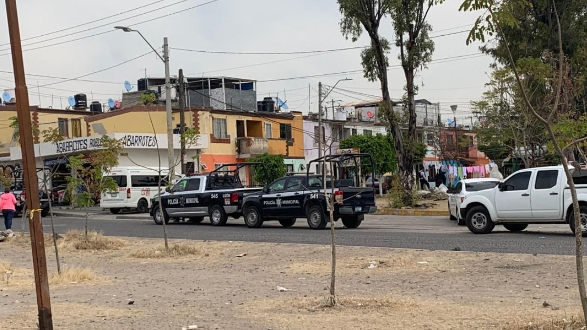 Foto: Policías detuvieron a varias personas en la colonia Delta de Jeréz, en León, Guanajuato.