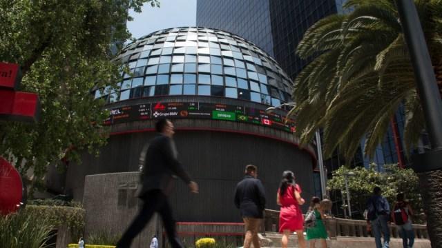 Foto: Sede de la Bolsa Mexicana de Valores (BMV) en la Ciudad de México. Cuartoscuro