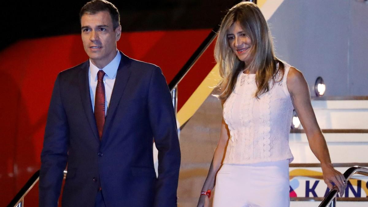 Foto: Pedro Sánchez y Begoña Gómez. Reuters/Archivo