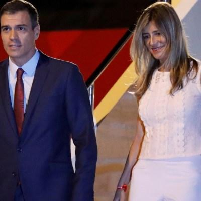 Begoña Gómez, esposa del presidente español Pedro Sánchez, da positivo de coronavirus
