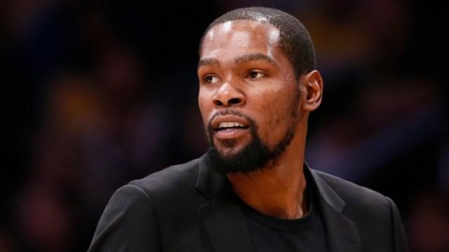 Foto: Kevin Durant, jugador de los Brooklyn Nets. Getty Images