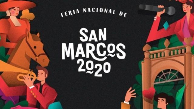 Foto: Cartel de la Feria Nacional de San Marcos. Twitter/@FNSM_Oficial