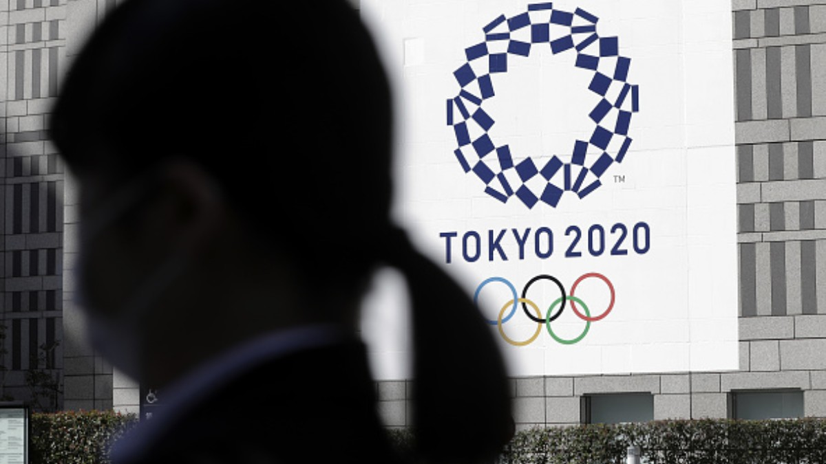 Foto: Logo de los Juegos Olímpicos 2020 en Tokio. Getty Images