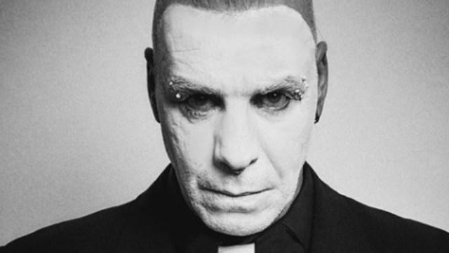 Foto: Till Lindemann, vocalista de Rammstein. Rammstein/Facebook