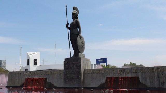 Foto: Glorieta la Minerva en Guadalajara, Jalisco. Reuters