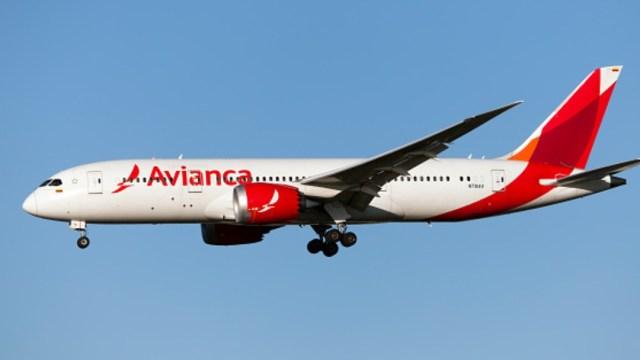 Foto: Un avión de la aerolínea AVIANCA. Getty Images/Archivo