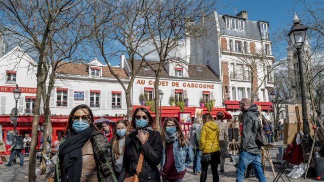 FOTO: Francia reporta 319 nuevos muertos por coronavirus y suma 2,314 fallecidos, el 28 de marzo de 2020