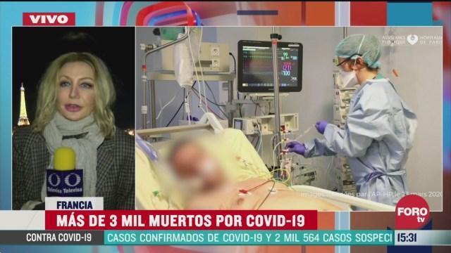 FOTO: francia rebasa los tres mil muertos por coronavirus