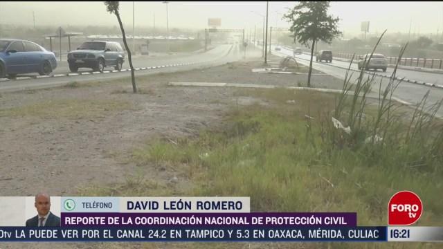 FOTO: fuertes rachas de viento y lluvias por nuevo frente frio en mexico