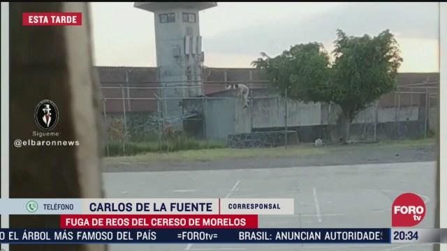 Foto: Video Fuga De Reos Cereso Morelos Hoy 19 Marzo 2020