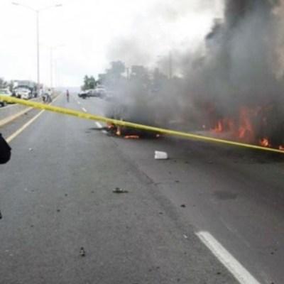 Detienen a cuatro presuntos responsables de bloqueos en Guanajuato; todos son menores