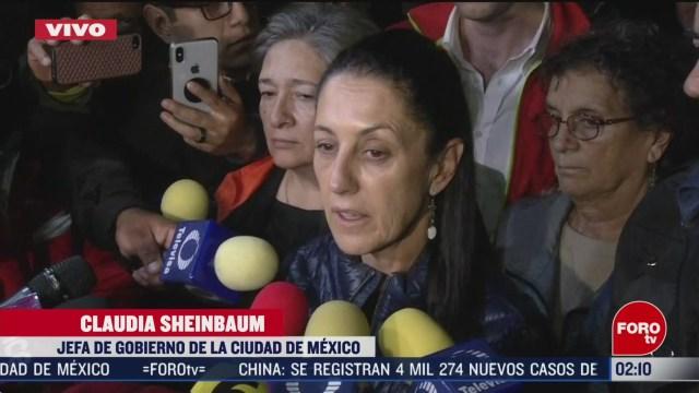 Foto: Choque Metro Tacubaya Peritaje Exhaustivo Asegura Sheinbaum 10 Marzo 2020