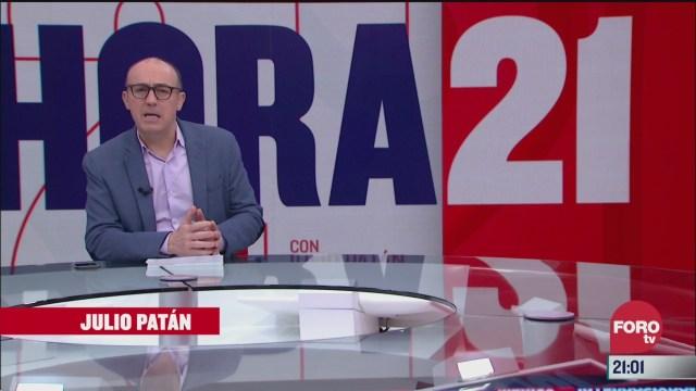 Foto: Hora 21 Julio Patán Programa Completo 25 Marzo 2020
