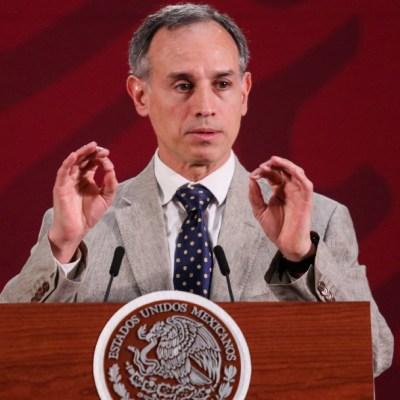 Foto: Hugo López-Gatell, subsecretario de Prevención y Promoción de la Salud, durante su conferencia de prensa, 29 marzo 2020