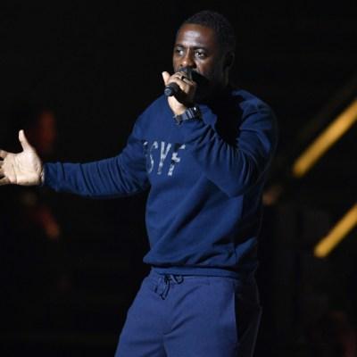 Actor británico Idris Elba da positivo por coronavirus