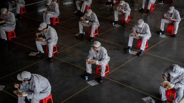 La ciudad china de Wuhan levantará cuarentena el 8 de abril
