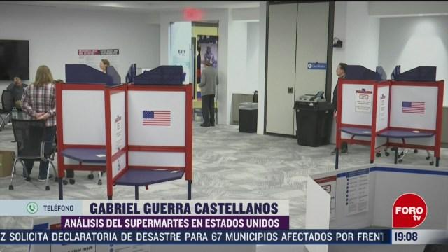 Foto: Supermartes Estados Unidos Fortalezas Candidatos 3 Marzo 2020
