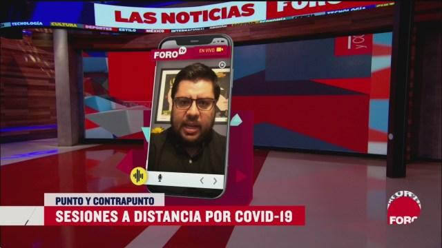 Foto: Coronavirus Legislación Distancia Cámara Diputados 25 Marzo 2020