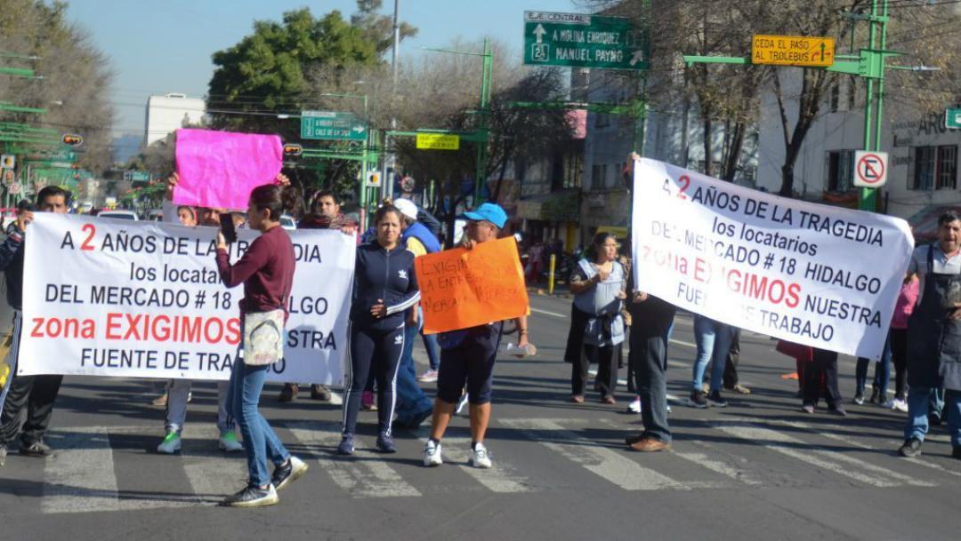 Distintas alcaldías serán afectadas por manifestaciones en la CDMX, 19 marzo 2020