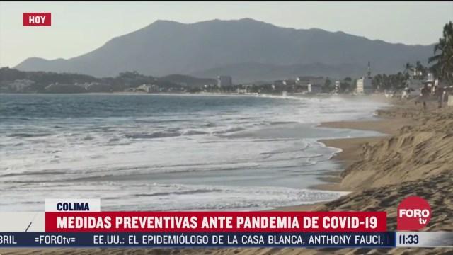 medidas preventivas ante pandemia de covid 19 en manzanillo colima