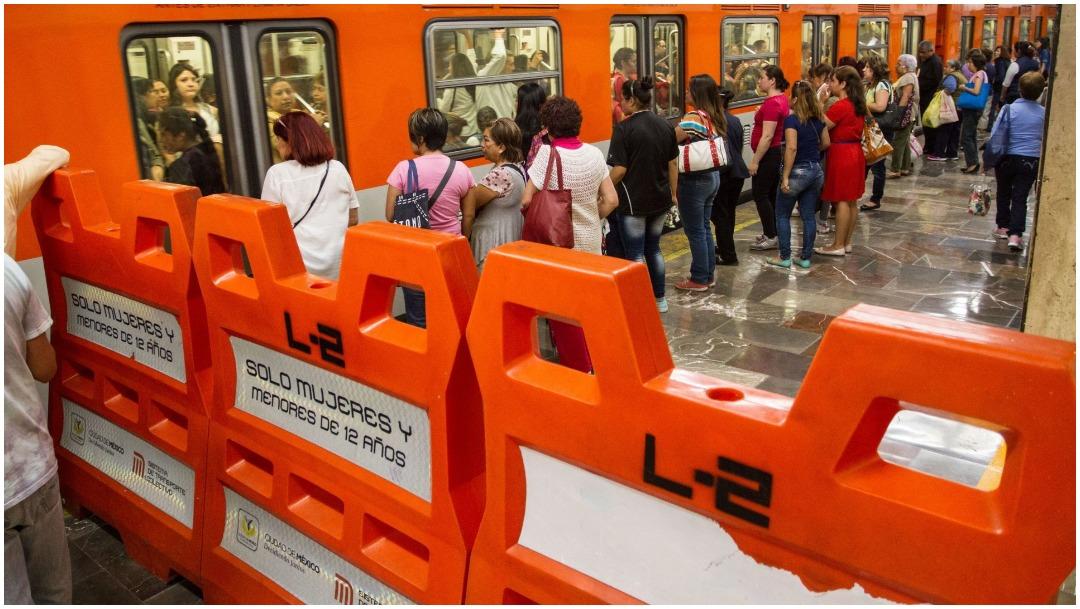 El Metro abrirá todas sus estaciones en apoyo a marcha de mujeres (Foto: Cuartoscuro)