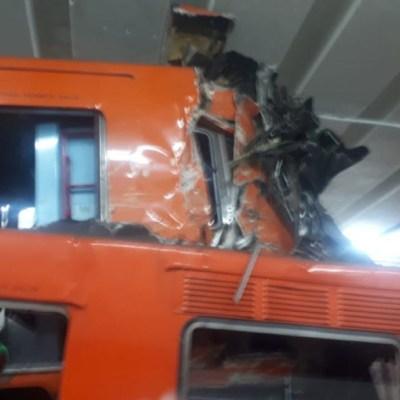 Metro CDMX analiza cajas negras de trenes que chocaron en Tacubaya
