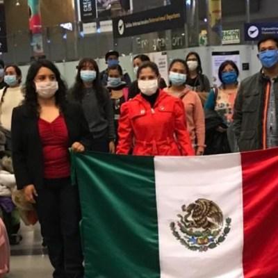 SRE prevé retorno de más de ocho mil mexicanos varados en el extranjero por coronavirus