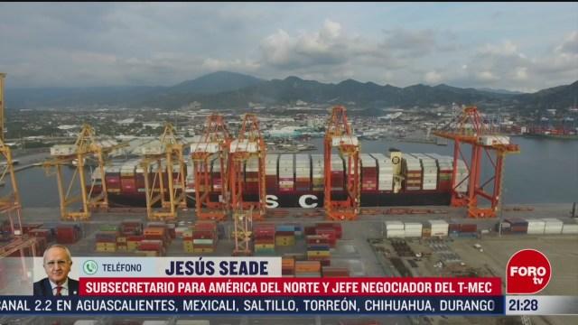 Foto: México Aplaude Ratificación T-Mec Canadá Jesus Seade 13 Marzo 2020