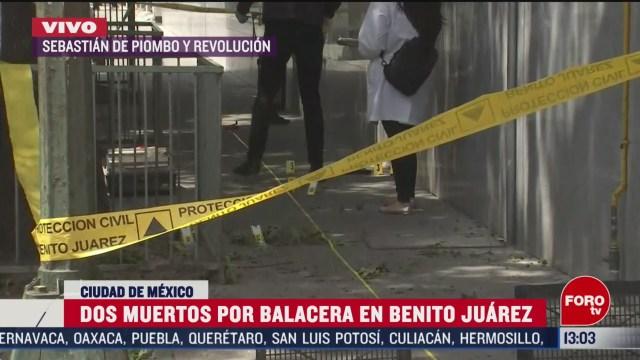 FOTO: 7 marzo 2020, muere policia y empleado tras balacera en hotel de la benito juarez