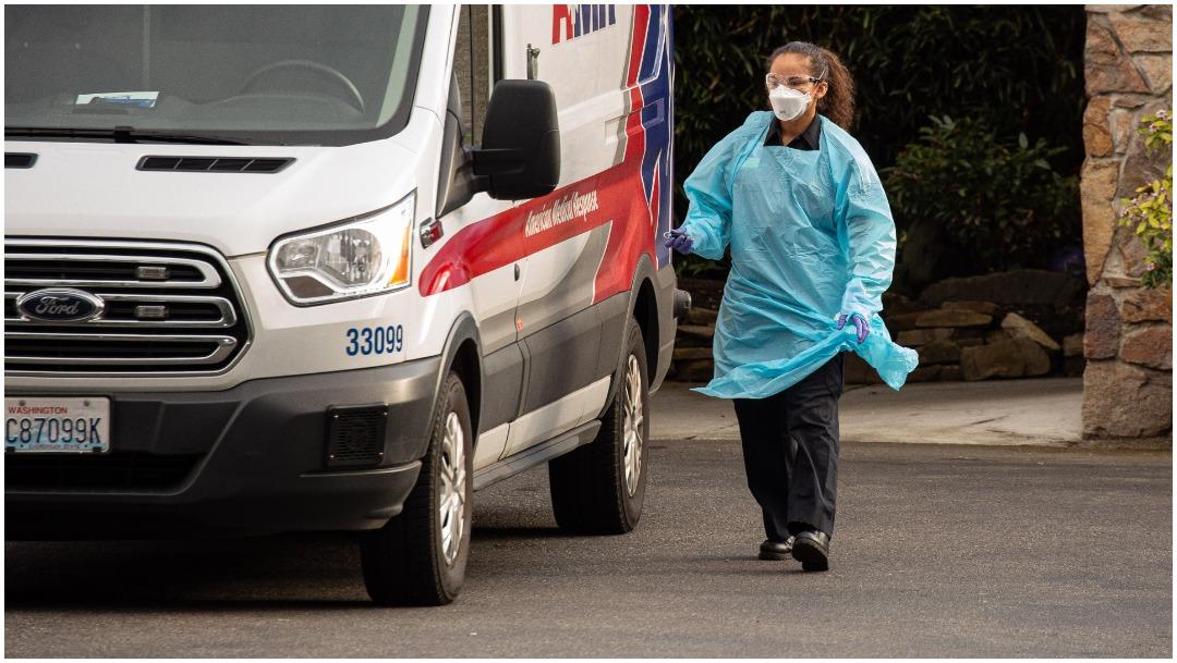 Imagen: Muere segundo paciente por coronavirus en Estados Unidos, 1 de marzo de 2020 (Getty Images)