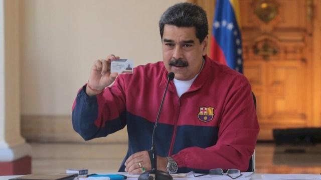 El presidente de Venezuela, Nicolás Maduro. (Foto: EFE)