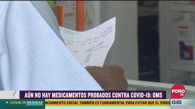 FOTO: no hay medicamentos para prevenir el coronavirus