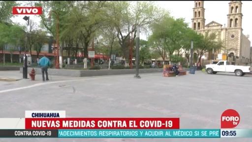 nuevas medidas contra el coronavirus en ciudad juarez