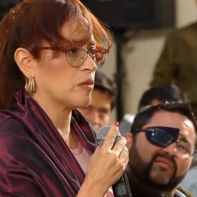 Mujer periodista denuncia agresión en conferencia mañanera, AMLO llama a la reconciliación