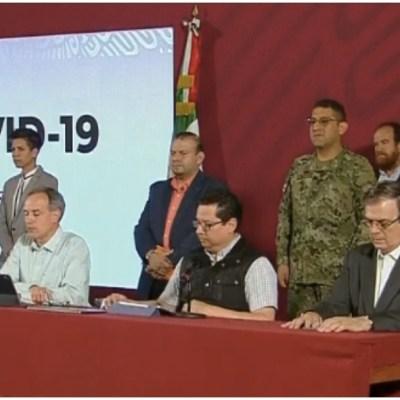 Foto: Autoridades llaman a reforzar las medidas de seguridad por coronavirus, 28 de marzo de 2020 (Foro TV)