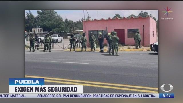 pobladores atacan instalaciones de guardia nacional en san jose chachapa puebla