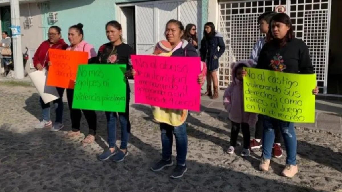 Denuncian maltrato infantil en kínder de Querétaro