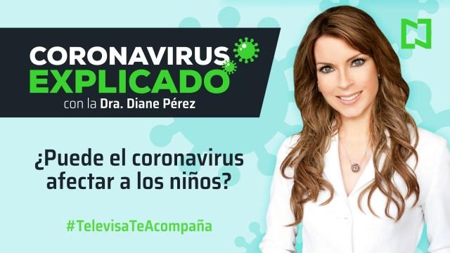 Foto: Conavirus Explicado Diane Pérez Recomendaciones Prevención Niños Episodio 1 23 Marzo 2020