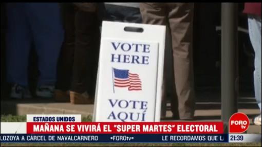 Foto: Supermartes Qué Es Su Importancia Estados Unidos Elecciones 2 Marzo 2020